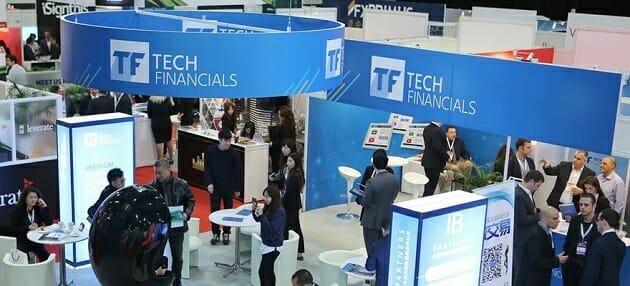 Techfinancials auf der Messausstellung