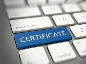 Zertifikate handeln